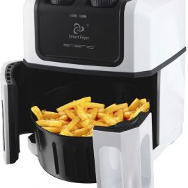 Emerio Smart Fryer / Hetelucht friteuse Wit