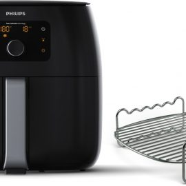 Philips Avance Airfryer XXL HD9651/90 - Hetelucht friteuse met extra Rooster