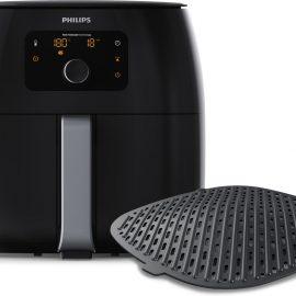 Philips Avance Airfryer XXL HD9654/90 - Hetelucht friteuse met extra grillplaat