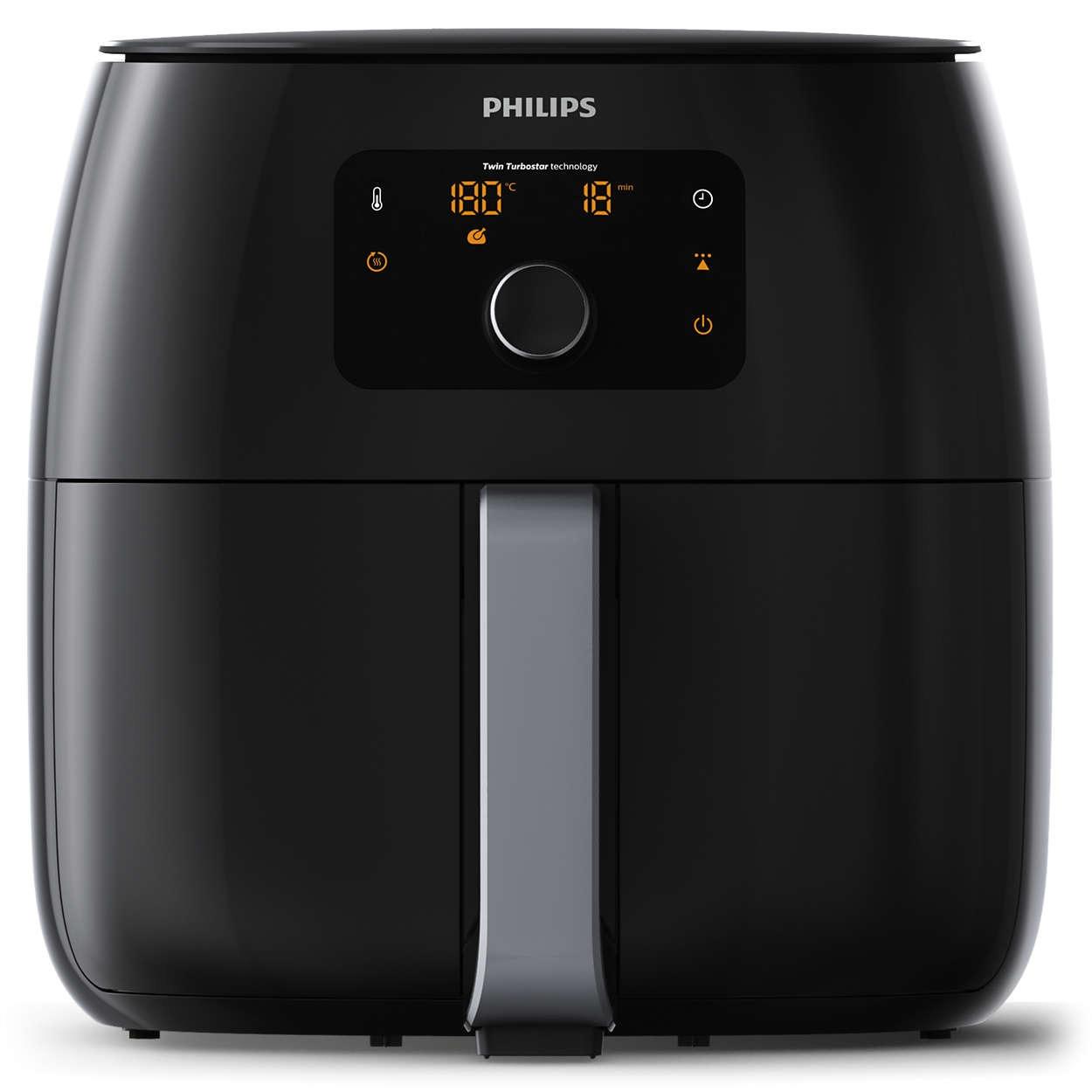 Philips airfryer HD9650/90 Airfryer XXL zwart